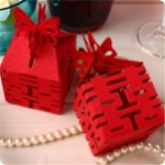 Jewelry Candy Box 50 Wedding Butterfly Red DIY Chinese Paper Gift
