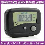LCD Pedometer Step Calorie Counter Walking Distance_Free Shipping