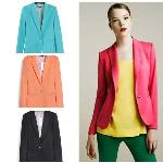 2013 Z new hot stylish and comfortable women's cotton jacket shawl lace cardigan Candy color lined with striped Z suit A961