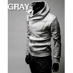 fashion Korean men's hoodie sweater cardigan male short/coat /sweatshirt Hoodies, Sweatshirts JKI8