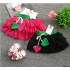 2010 new style /lovely two peach heart/skirt M0300035