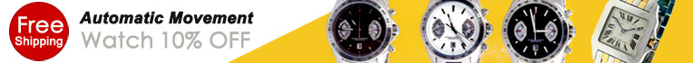 New Arrivals Automatic Movement Watch 10% OFF