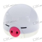 USB Powered Cute Pig Air Ionizer and Purifier with Color LED Light SKU:39065